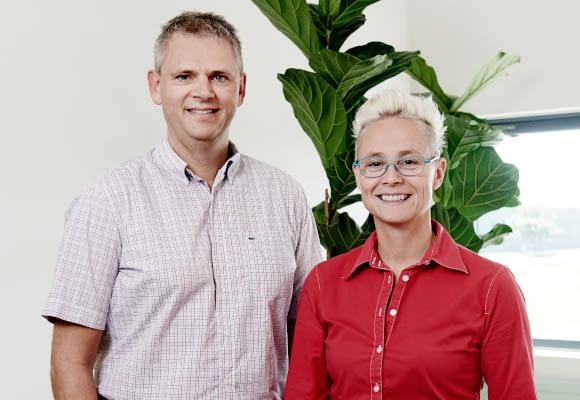 Om Stepto - Lars Søgaard og Margrethe Brandt